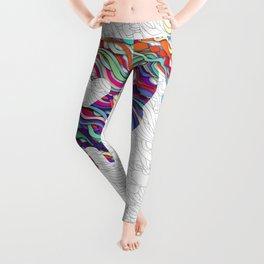 Colorful SKULL Leggings