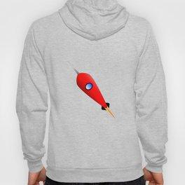 Red Space Rocket Hoody