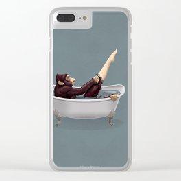 Bathtub Clear iPhone Case