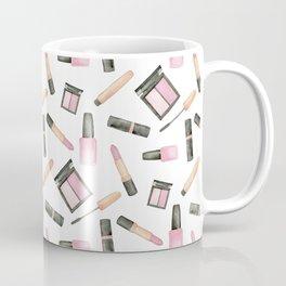 Watercolor beauty product pattern Coffee Mug