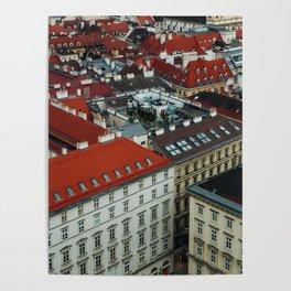 Vienna rooftops II Poster