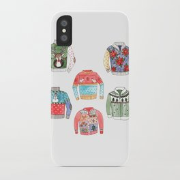 Ugly Sweaters iPhone Case