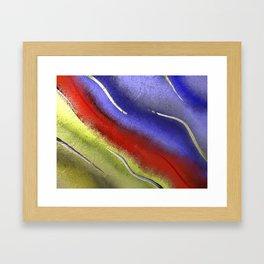 Primary Rainbow Framed Art Print