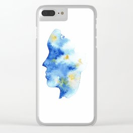 Ocean Mind Clear iPhone Case