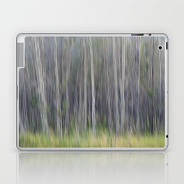 Birch Blurs Laptop & iPad Skin