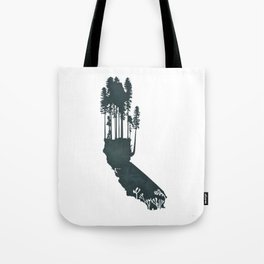 California is...The Forest Tote Bag