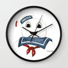 Stay Puff Wall Clock