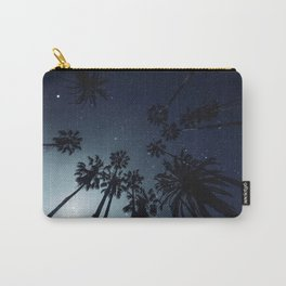 Palm Trees, Night Sky, Stars, Moon Carry-All Pouch