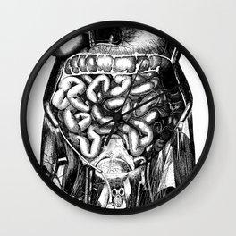 Grind organs Wall Clock