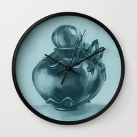 venom Wall Clocks featuring Venom by Chez!