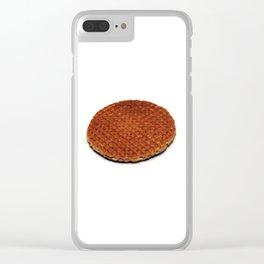 Stroopwafel Clear iPhone Case