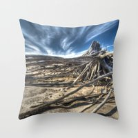 tangled Throw Pillows featuring Tangled by Kent Moody