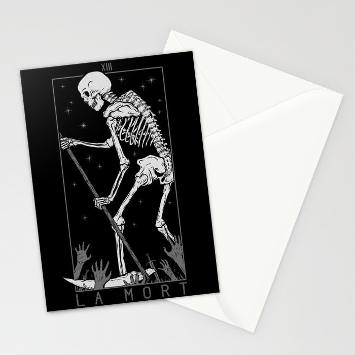 La Mort Stationery Cards