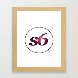 S6. Framed Art Print