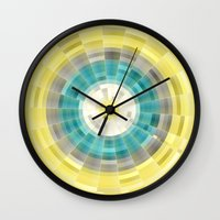geo Wall Clocks featuring Geo by H-L-B