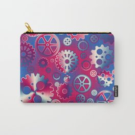 Colorful metallic gears Carry-All Pouch