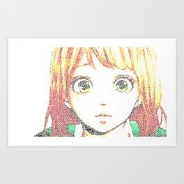 Naho Takayina - Orange Art Print