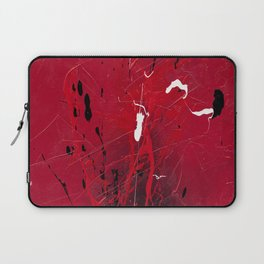 Rising - abstract painting by Rasko Laptop Sleeve