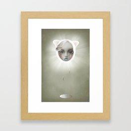 Winter Lamb Framed Art Print