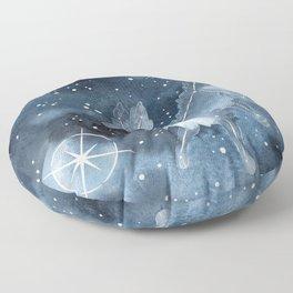 Star Dog Floor Pillow