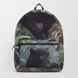 Black Jaguar by Gamini Ratnavira Backpack