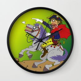 Napoleon goes rampage Wall Clock