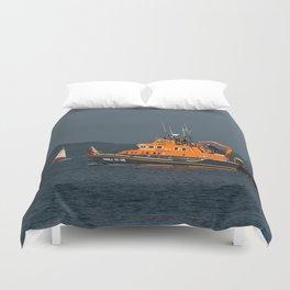 RNLI Lifeboat Torbay Duvet Cover