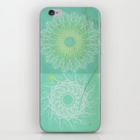 morocco iPhone & iPod Skins featuring Morocco Mint by ZenaZero