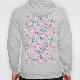 Pink floral pattern n.1 Hoody