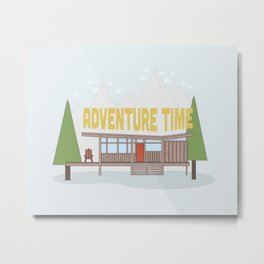 Time for Adventure  Metal Print