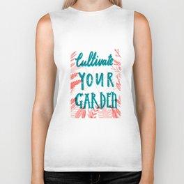 Cultivate your garden Biker Tank