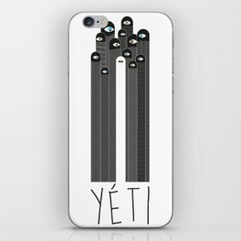 Yéti iPhone Skin