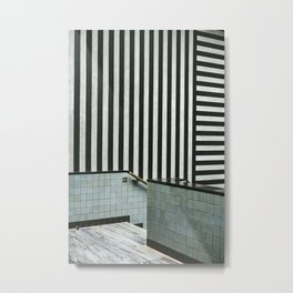 Lines and Tiles - Gemeentemuseum The Hague photo print | interior design architecture photography art print Metal Print