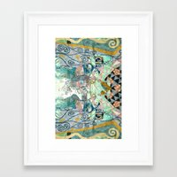 cage Framed Art Prints featuring Cage by Shaila