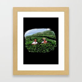 99 - Kerala tea estates… Framed Art Print