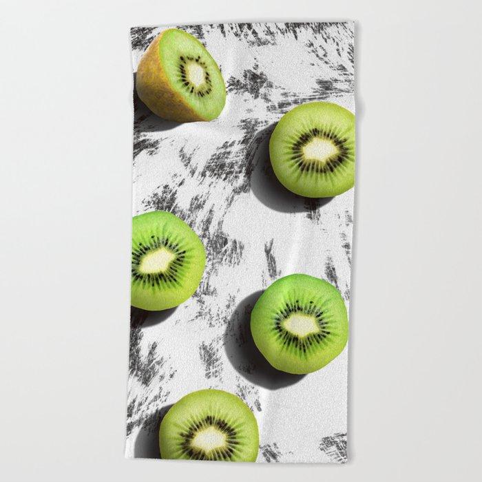 fruit 3 Beach Towel