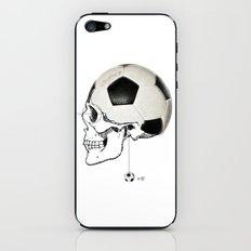 Football - Kopfball iPhone & iPod Skin