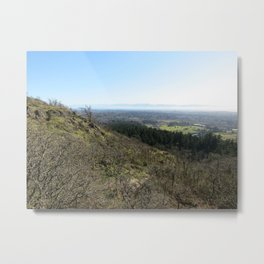 View from Mt. Doug Metal Print