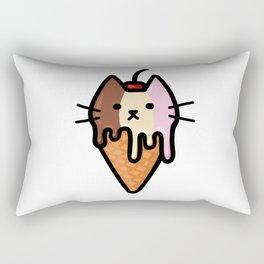 Kitty Ice Cream - Neapolitan Rectangular Pillow