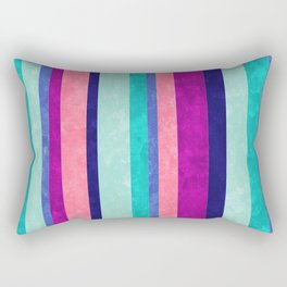 Stripes Askew Rectangular Pillow