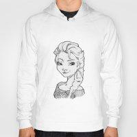 frozen elsa Hoodies featuring Frozen Elsa by MarievArp