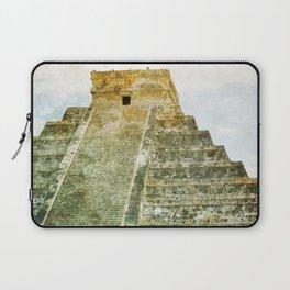 Chichen Itza pyramid Laptop Sleeve