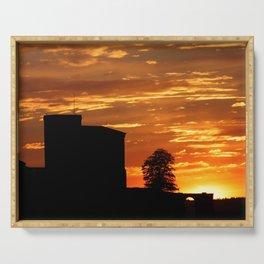 Castle Sunset  - JUSTART © Serving Tray