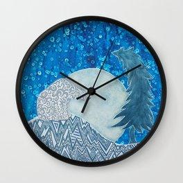 Bedtime Stories by Lori Lynn Fell Wall Clock