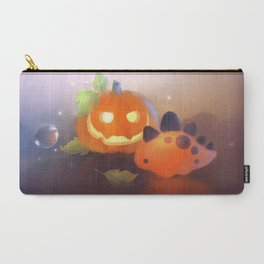 Pumpkin Dino Carry-All Pouch