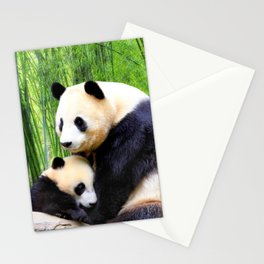 Panda-love Stationery Cards
