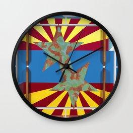 Altered State: AZ Wall Clock