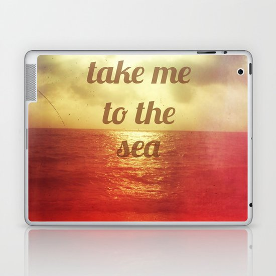 take to the sea Laptop & iPad Skin