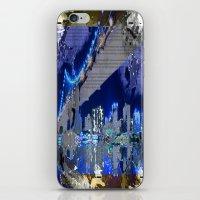 brooklyn bridge iPhone & iPod Skins featuring Brooklyn Bridge by Robin Curtiss