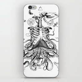 Engraving - Chimera_01 iPhone Skin